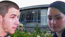 Nick Jonas & Demi Lovato -- Concert Venue Evacuated (UPDATE)
