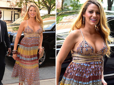 Blake Lively -- L.A. Face ... And Cleavage (PHOTOS)