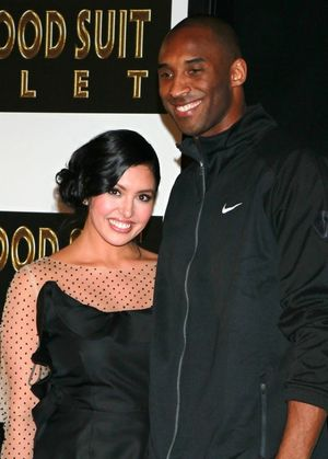 Kobe and Vanessa Bryant -- The Proud Parents