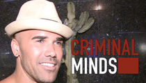Shemar Moore -- Delivers Good Time for 'Criminal Minds' Crew (PHOTO)