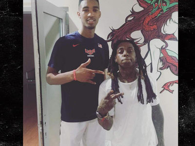 Lil Wayne's Young Money Sports -- Nabs Another One ... Signs Teenage NBA Prospect (PHOTOS)