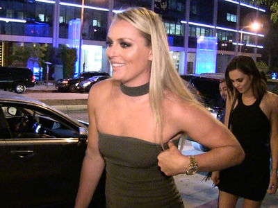 Lindsey Vonn -- Parties In Hollywood ... In Skin Tight Dress (VIDEO + PHOTO GALLERY)