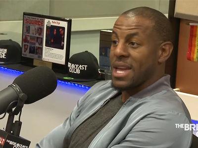Andre Iguodala -- Steph Curry Unfairly Pressured ... to Speak On Transgender Laws (VIDEO)