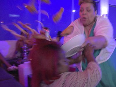 'Little Women: Atlanta' -- Big Backup for Little Chicken Wing Fight (VIDEO)