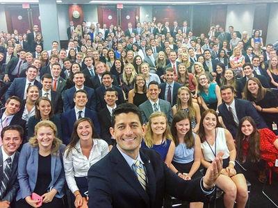 Paul Ryan -- Speaker of the White House (PHOTO)