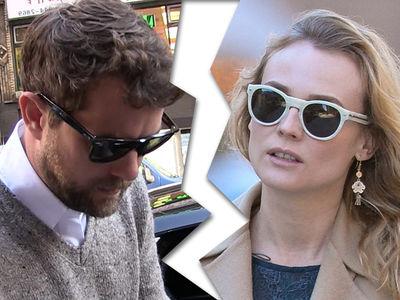 Joshua Jackson, Diane Kruger -- Ten Is Enough ... We're Breaking Up