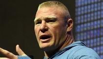 Brock Lesnar -- Fails 2nd Drug Test ... On Day of UFC 200 Fight