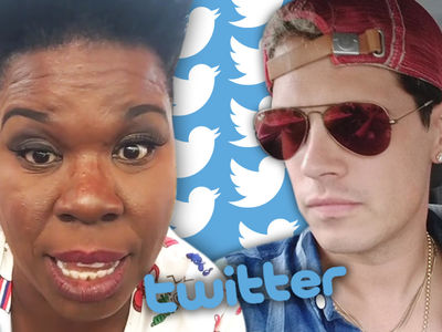 Leslie Jones -- Twitter Bans One of Her 'Trolls' ... Internet Outraged