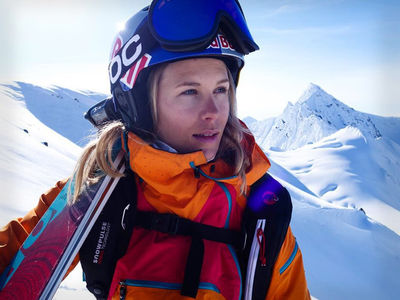 Pro Skier Matilda Rapaport -- Dies In Freak Skiing Accident ... While Filming Video Game (PHOTO GALLERY)