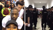 Dwyane Wade -- Insane Security Measures ... During Chinese Mall Visit (VIDEO)