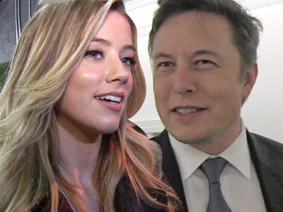 Amber Heard -- Hangin' a Lot with Elon Musk