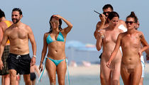 Eva Longoria -- Missed the Memo on Nude Beaches (PHOTO)