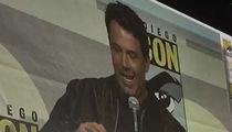Ben Affleck -- Surprises 'Batman' Fans At Comic-Con