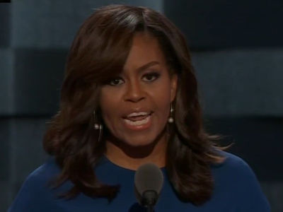 Michelle Obama -- I Live in a House Built By Slaves, But America's Already Great (VIDEO)