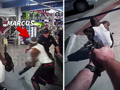 Ex-NFL QB Marcus Vick -- Insane Police Video ... Running from Cops, Captured at Gunpoint (VIDEO)