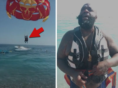 Rick Ross -- It's a Bird, It's a Plane ... Nope, It's Just Me (VIDEO)