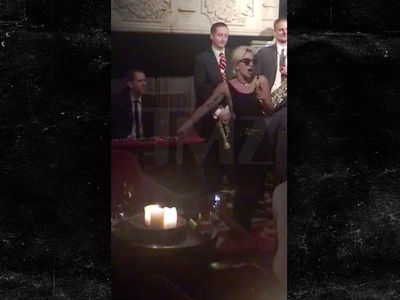 Lady Gaga -- In The Mood ... For A Surprise Show (VIDEO)