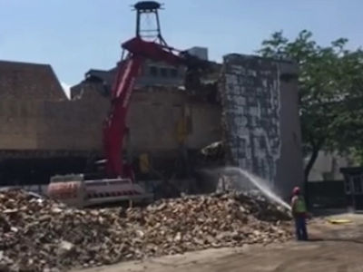 Oprah Winfrey -- Came in Like a Wrecking Ball ... Chicago Studio Demolished (VIDEO)