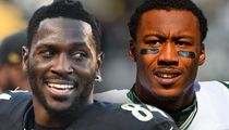 Antonio Brown -- Responds to Brandon Marshall's Bet ... Are You For Real?