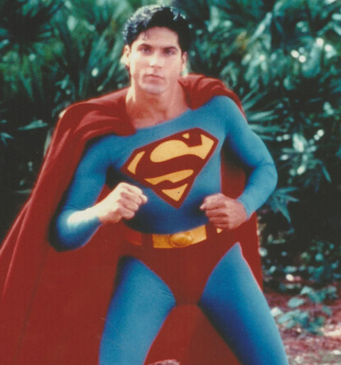 "Gerard Christopher is best known for playing the high-flying Clark Kent -- opposite Stacy Haiduk as Lana Lang -- in the late '80s action show ""Superboy."""