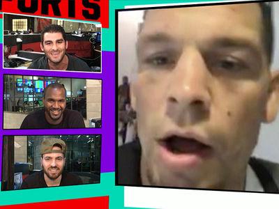Nate Diaz -- I'm Heading Back to Stockton ... to Prep for McGregor (VIDEO)