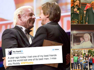 Ric Flair -- I Miss Roddy Piper ... 1 Year After His Death