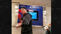 Vanilla Ice -- Flips Out at Delta ... 'You Gotta Watch the Monitors, Man' (VIDEO)