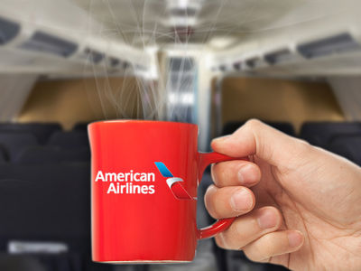 American Airlines -- Passenger Claims Severe Burns ... AA Serves Hot Coffee???