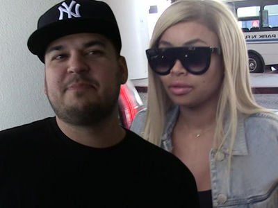 Rob Kardashian & Blac Chyna -- Reality Show In Crisis