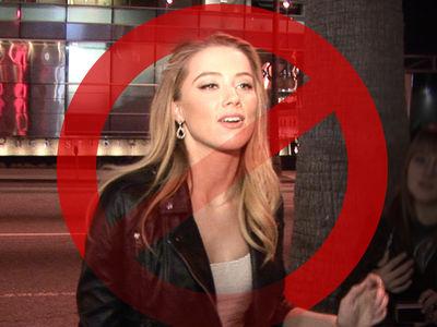 Amber Heard -- NO SHOW at Depo