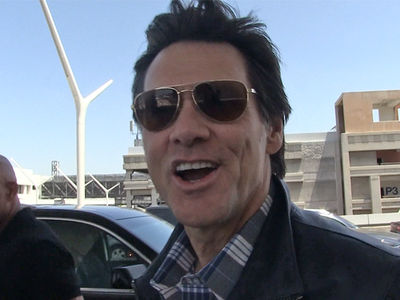Jim Carrey -- I'm Super Impressed with My Doppelganger!!! (VIDEO + PHOTO)