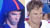 Michael Phelps vs. Eli Manning -- Who'd You Rather? (Mean Mugs Edition)
