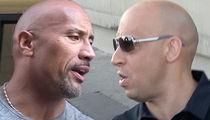 'Fast & Furious' Feud -- Rock vs. Vin Diesel ... Secret Meeting to Quash Beef