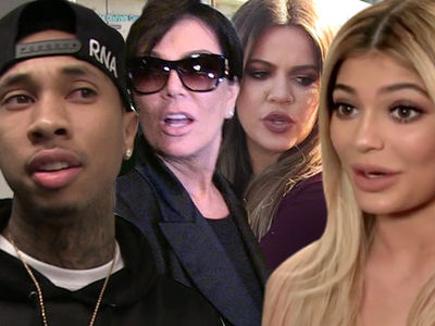 The Kardashians -- Rail on Tyga ... You Getting Arrested Could Ruin Our Brand!!!