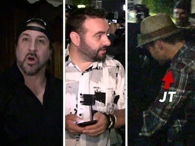 'NSYNC -- Timberlake and Crew Celebrate JC's 40th Birthday (VIDEOS + PHOTO)