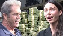 Mel Gibson -- Baby Mama Oksana Grigorieva ... Loose Lips Cost Her a Bundle