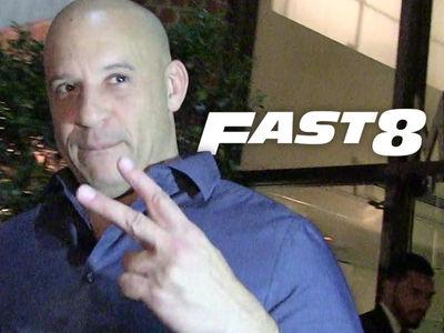 Vin Diesel -- Sayonara, 'Fast 8' ... Beef with Rock Rolls On