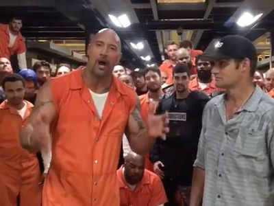 The Rock -- I'll Show You Who's Boss on 'Fast & Furious' (VIDEO)