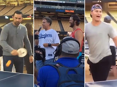 Will Ferrell -- Roasts Clayton Kershaw ... 'Supposedly On the DL' (VIDEO)