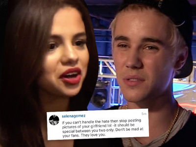 Selena Gomez -- Trolls Justin Bieber ... Welcome To The Internet, Rookie