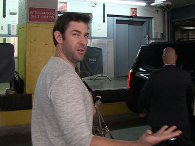 John Krasinski -- I Believe In Garoppolo ... Pats Will Go 4-0 Without Brady (VIDEO)