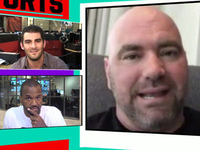 Dana White -- McGregor Will Be Punished For Bottle War ... Lawsuit On the Way (VIDEO)
