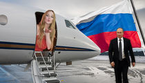 Lindsay Lohan -- I'll Appear on Russian TV ... But Give Me Money, and Putin