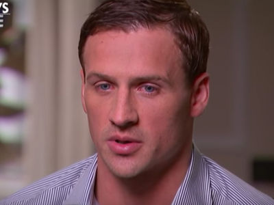 Ryan Lochte -- Tears Up ... 'I Let My Team Down'
