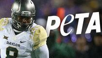 Baylor Football Player -- PETA Demands Drug Tests, Counseling ... After Dog Abuse Vid