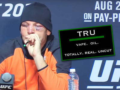 Nate Diaz Blew Up My Vape Pen Biz ... But I Can't Cash In On It!!