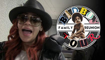 Faith Evans -- Judge OKs Bad Boy Reunion ... Single Mamas Gotta Eat!!!