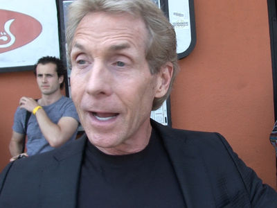Skip Bayless -- Mike Tyson Sat In Kanye's UFC Seats ... Guess What Happened Next (VIDEO)