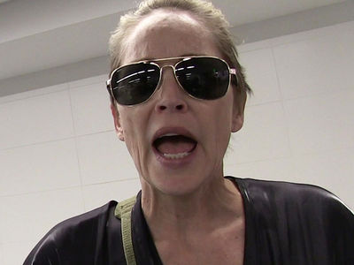 Sharon Stone -- My Alleged Stalker's Hitting Me Up For Guns & Diamonds