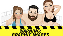 Dan Bilzerian's Emojis -- Boobs, Blow and One Horny Goat (PHOTO GALLERY)